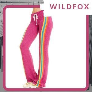 🆕🦊 NWOT WILDFOX Retro Track Tennis Club Pants